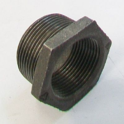Malleable Black Iron Threaded Bush 1.1/4 to 1 inch - 22000080